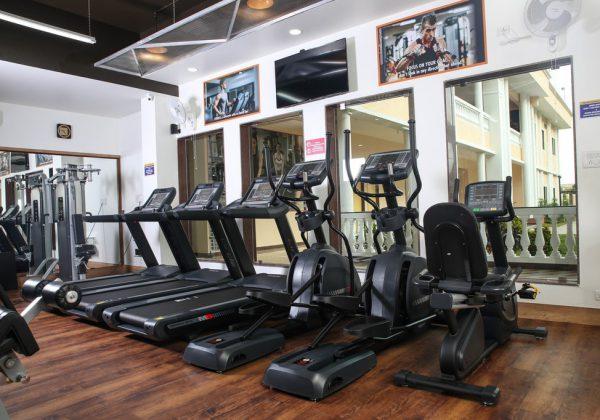 Treadmills, Ellipticals, Exercise bikes at Norbert's Fitness Studio, Goa