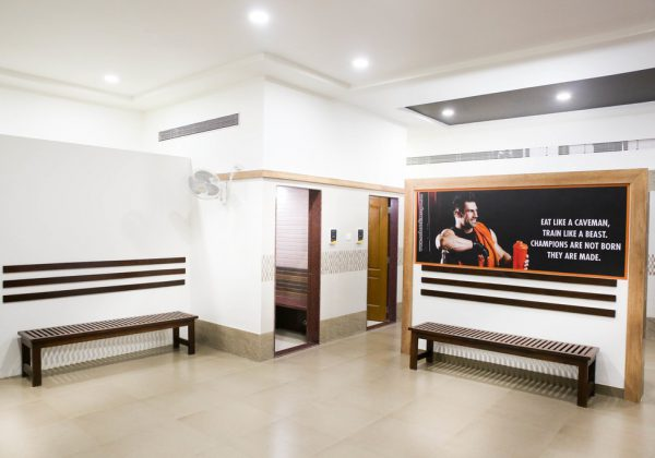 Washrooms, Cleaning Room, Rest Room at Norbert's Fitness Studio, Goa