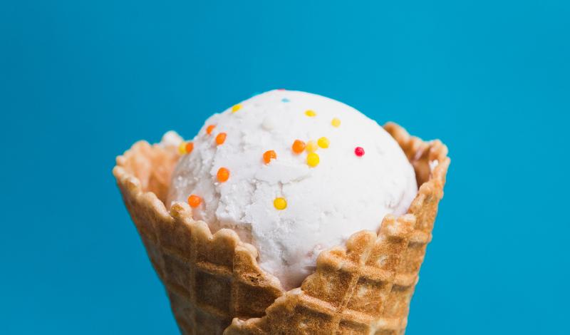 Sweetened Frozen Snack!