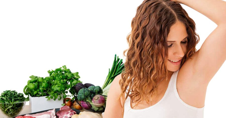 Connection between Body Odour & Food